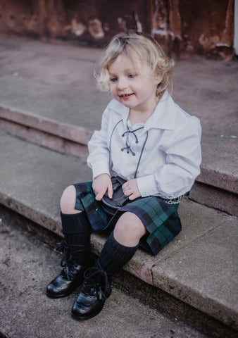 Black Watch Kids Kilt Outfit