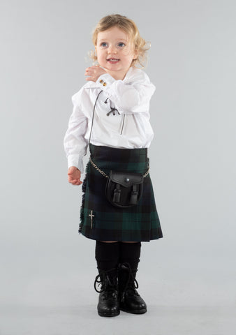 Kids Black Watch Kilt Outfit