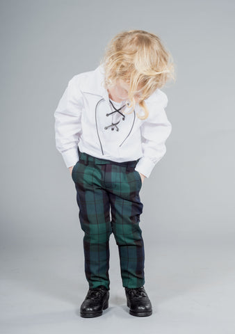 Black Watch Tartan Kids Trews