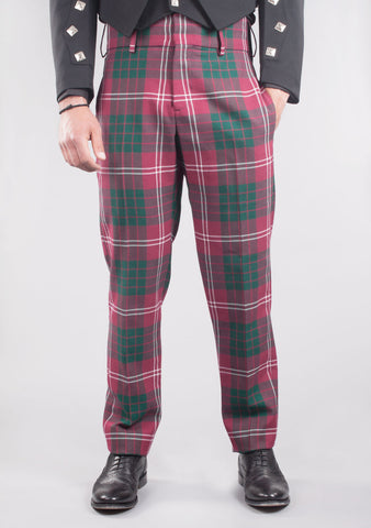 Custom Made Argyll Tartan Trews