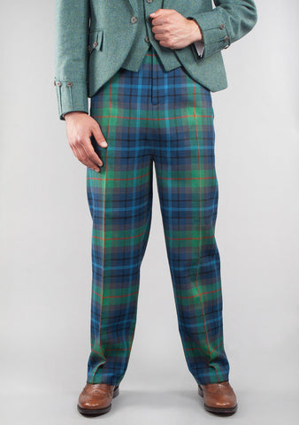 Custom Made Military Style Tartan Trews