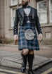 Persevere Moss Navy Prince Charlie Kilt Outfit