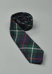 Slim Fit Tartan Wool Neck Tie