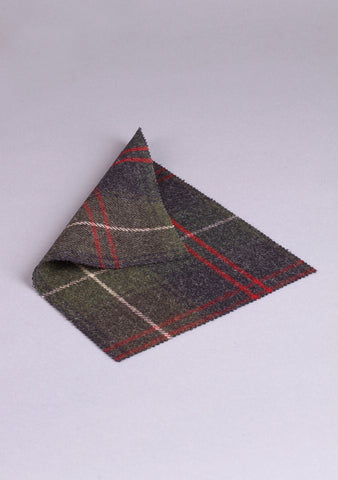 Custom Made Tweed Flashes