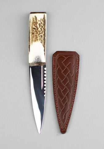 Luxury Staghorn & Walnut Sgian Dubh