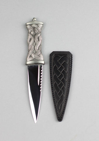 Earn Pewter Handle Sgian Dubh