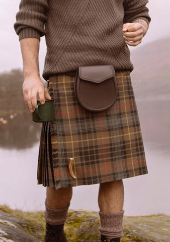 Stewart Hunting Weathered Tartan Custom Made Kilt