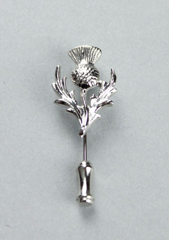 Scottish Thistle Tie Pin