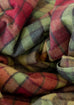 Recycled Wool Blanket in Buchanan Autumn Tartan