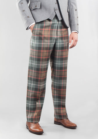 Custom Made Tartan Trousers
