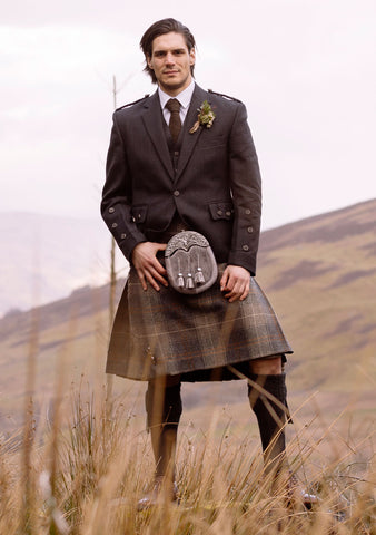 The Modern Patriot Tweed Kilt Outfit