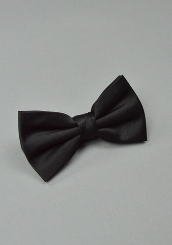 Kids Black Bow Tie