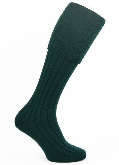 Strone Kilt Hose - Bottle Green