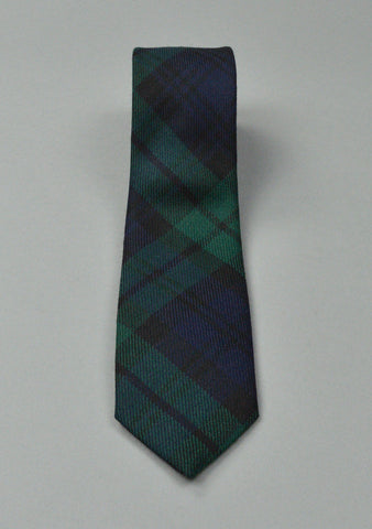 Slim Fit Tartan Neck Tie