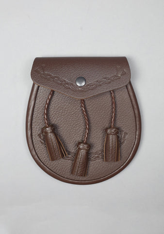 Celtic Leather Sporran