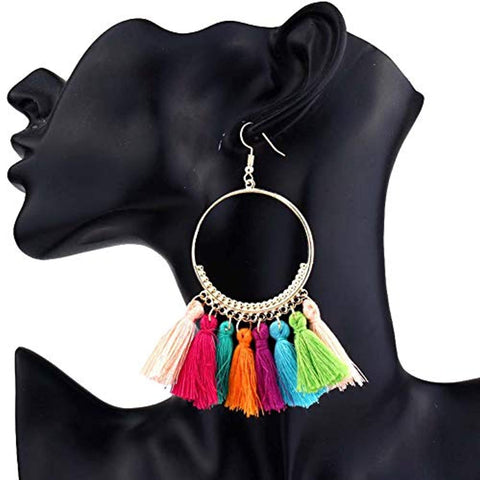 11 Pairs Tassel Earrings