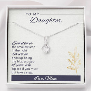 Necklace 'Alluring Beauty' To My Wife - Message Card 03