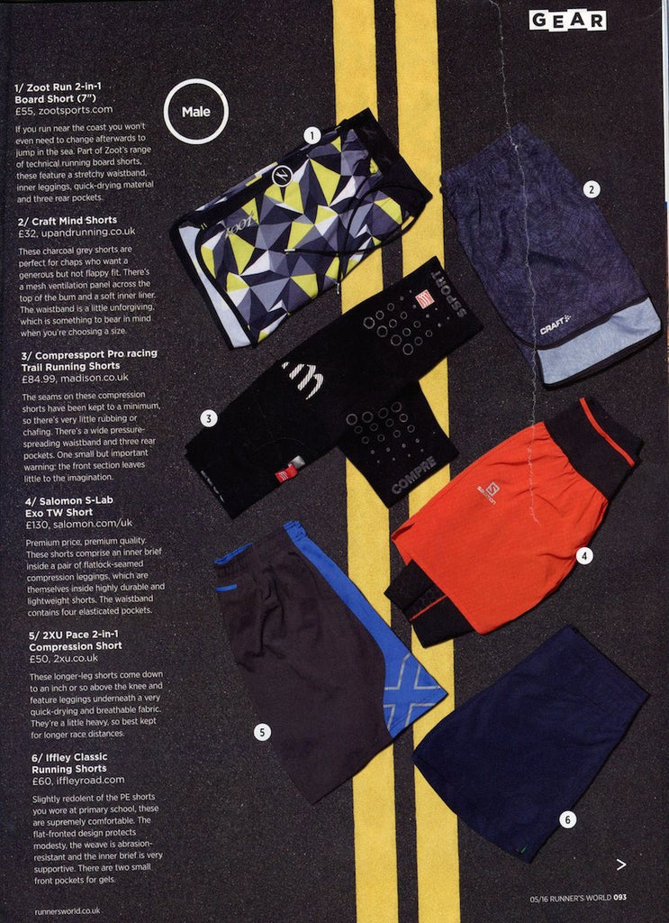 Runner's World - Pembroke Shorts
