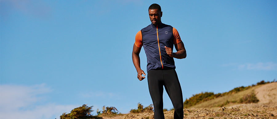Men's Waterproof Running Jackets & Gilets
