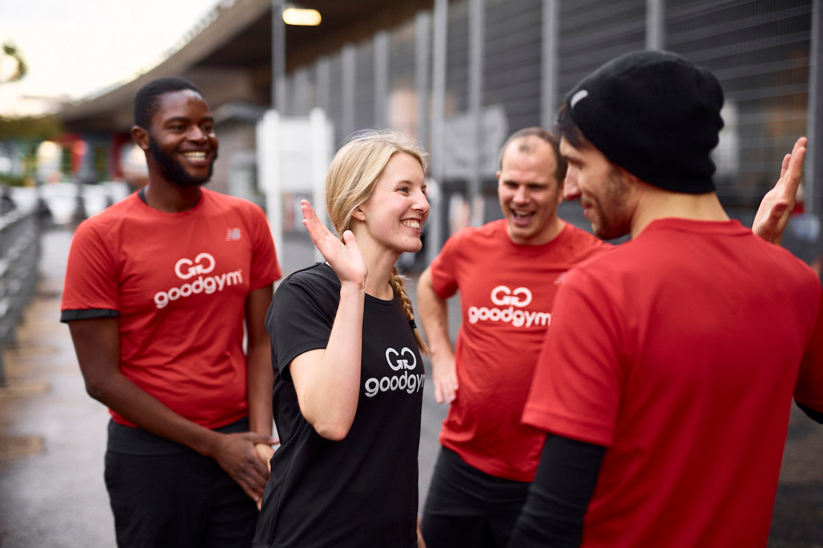 GoodGym volunteers