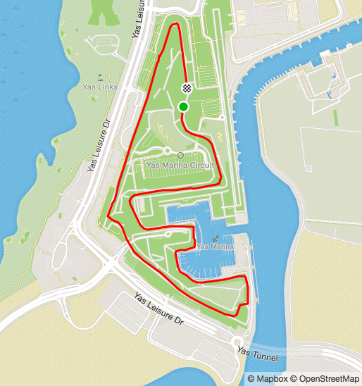 Best Runs in Abu Dhabi - YAS Marina Circuit, The Corniche and More Yas Marina Map on bahram map, eclipse map, alborz map, venus map, yall map, yak map, topaz map, rising sun map,