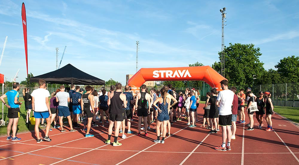 Strava MyMile event briefing