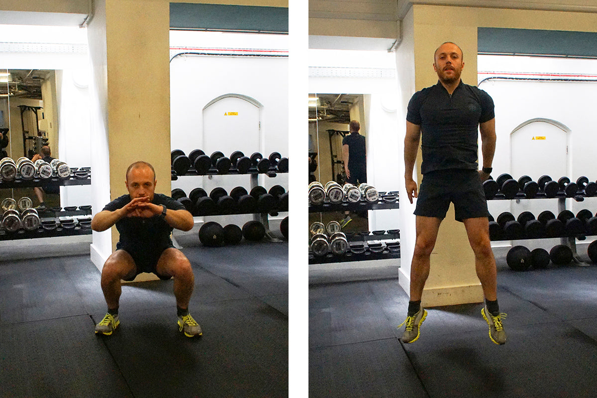 The Ultimate Lunchtime Workout - Air Jumping Squats