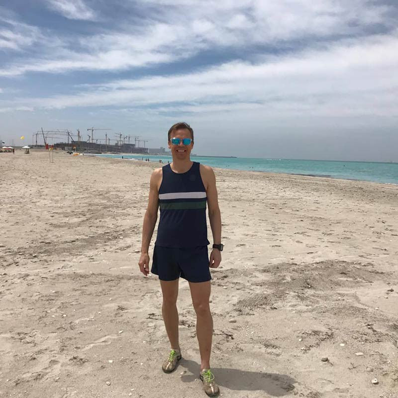 What to wear running in Abu Dhabi