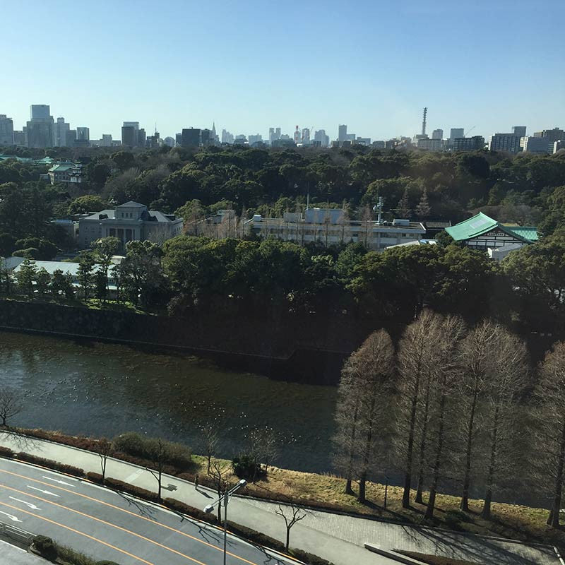 View of the Imperial Palace