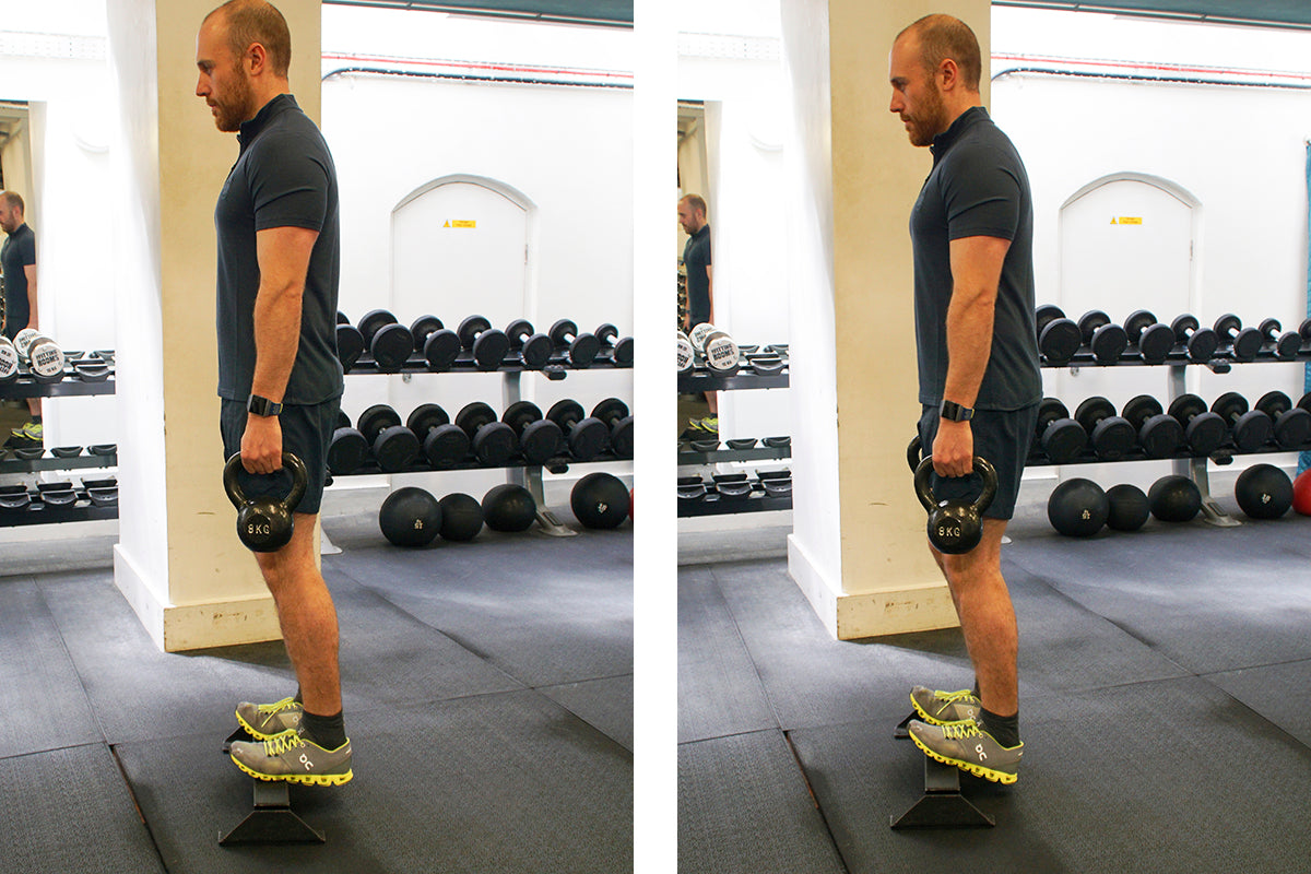 The Ultimate Lunchtime Workout - Calf Raises