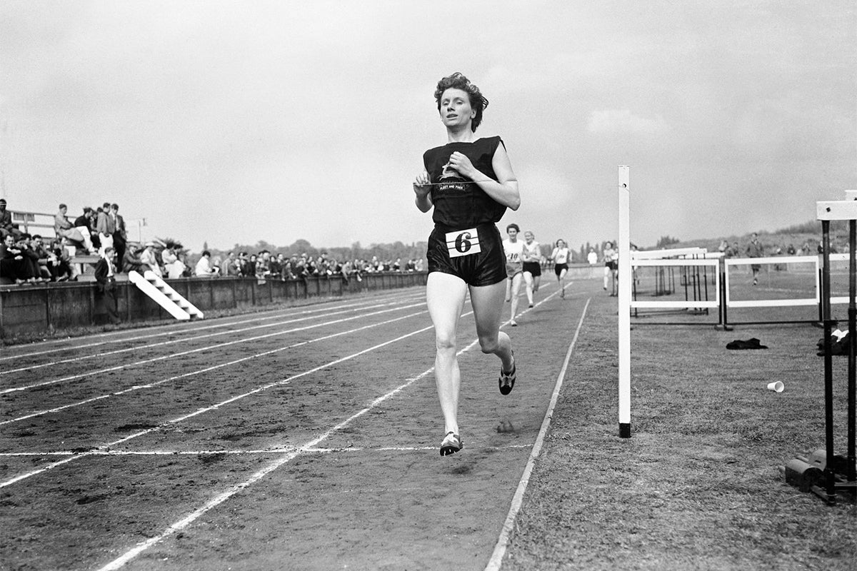 Diane Leather: 12 Inspirational Mile Runners