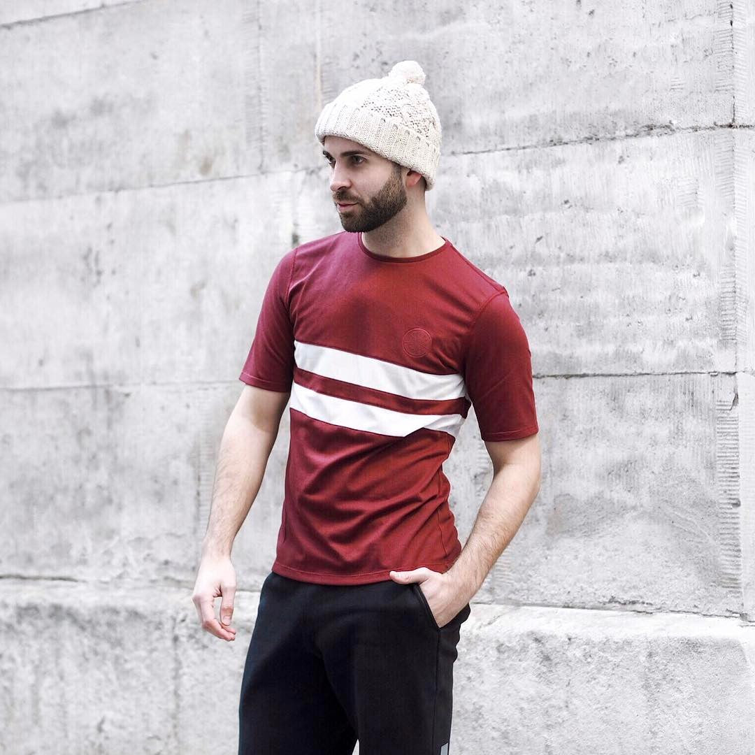 Cambrian stripe t-shirt @discerningman
