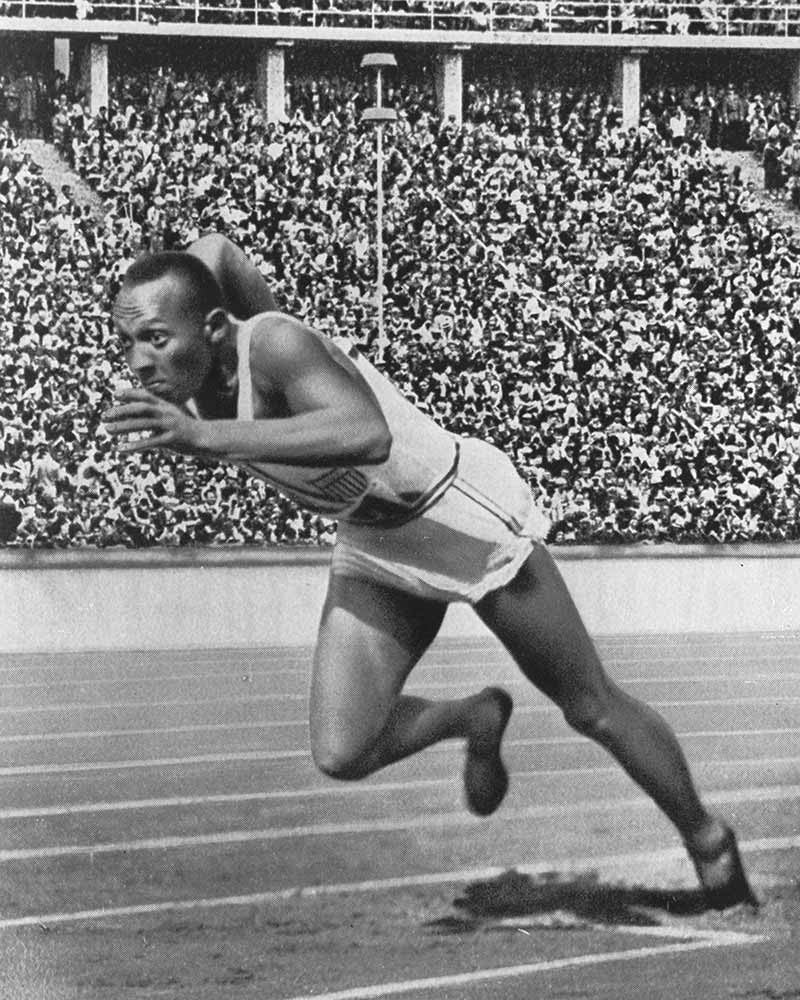 Jesse Owens at the Berlin Olympics