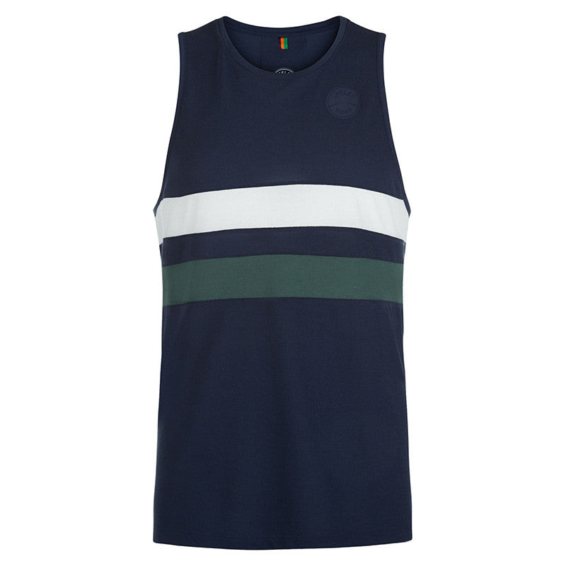 Lancaster night sky stripe running vest
