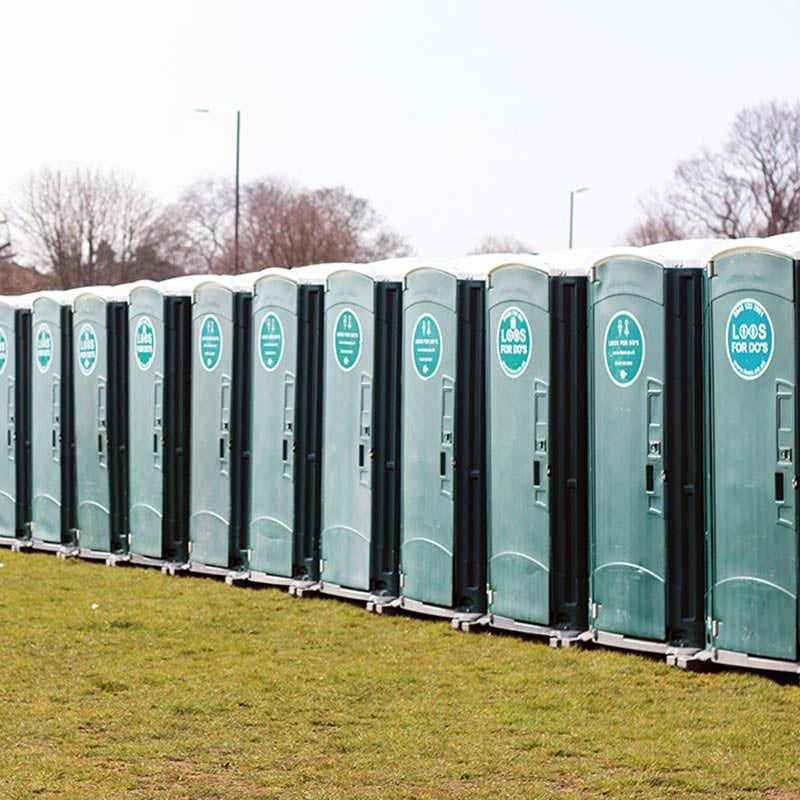 Using the loos before a race