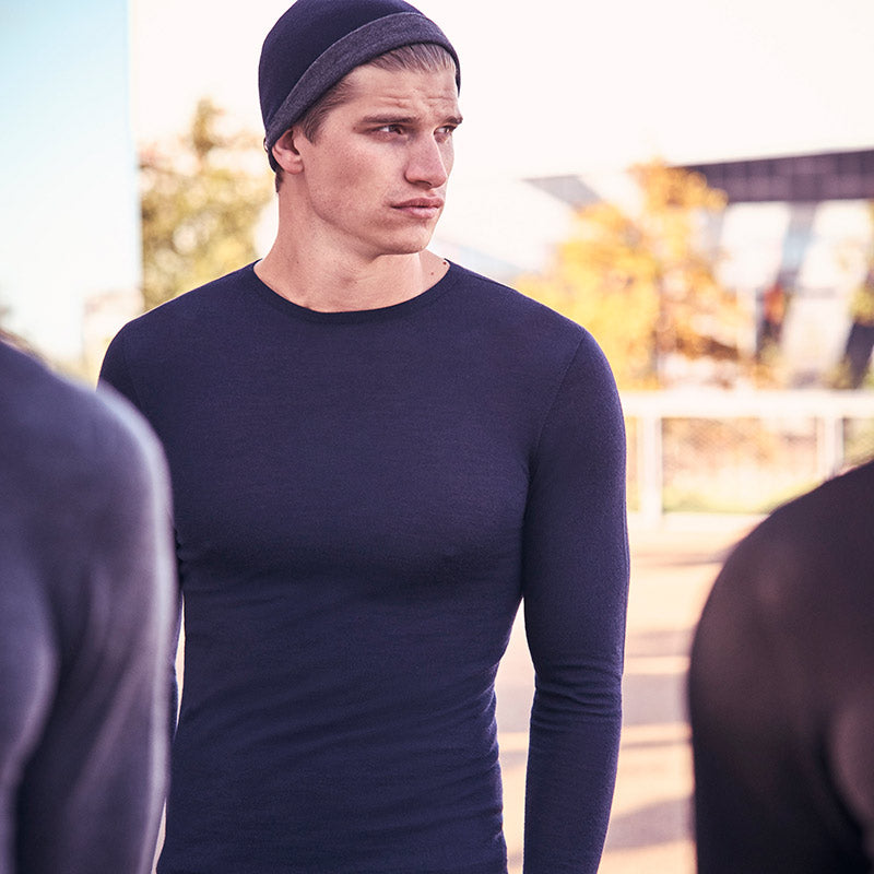 Merino base-layer and beanie
