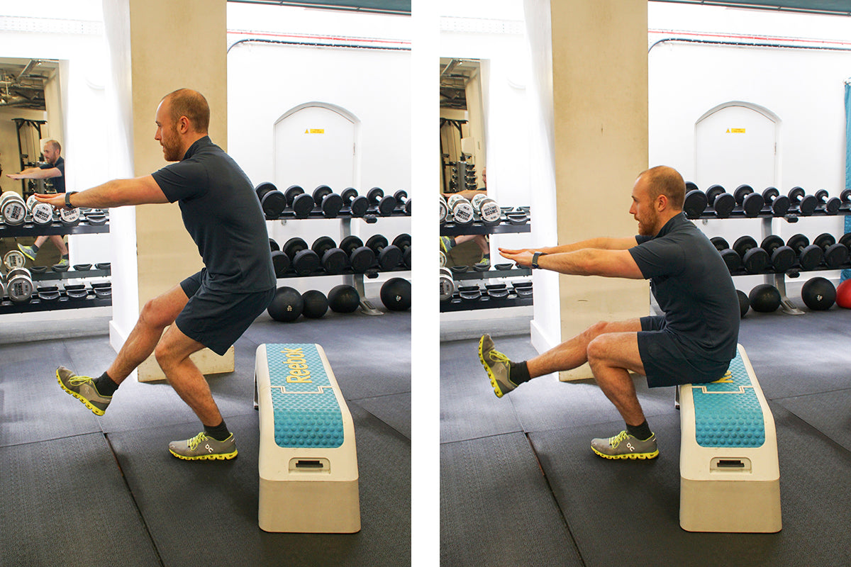 The Ultimate Lunchtime Workout - Pistol Squat