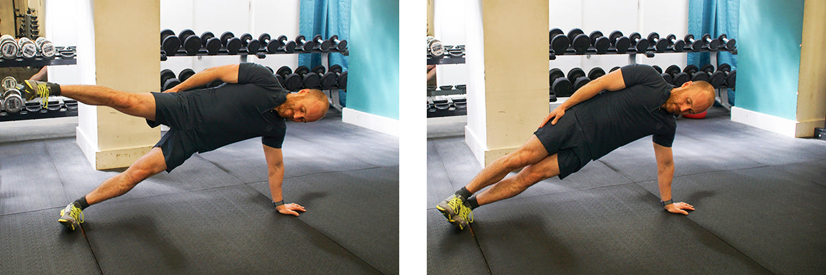 The Ultimate Lunchtime Workout - Side Plank Leg Lifts