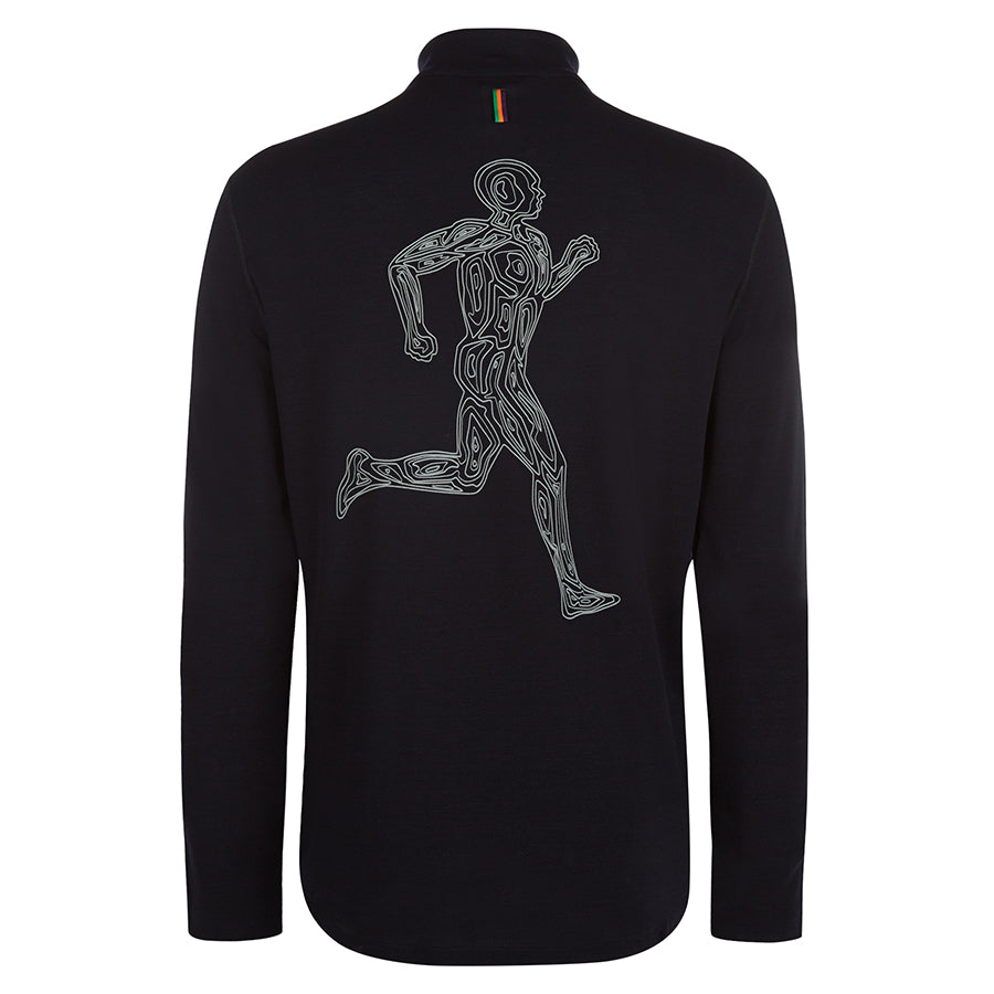 Contours Thorpe Merino Long Sleeved Running Top