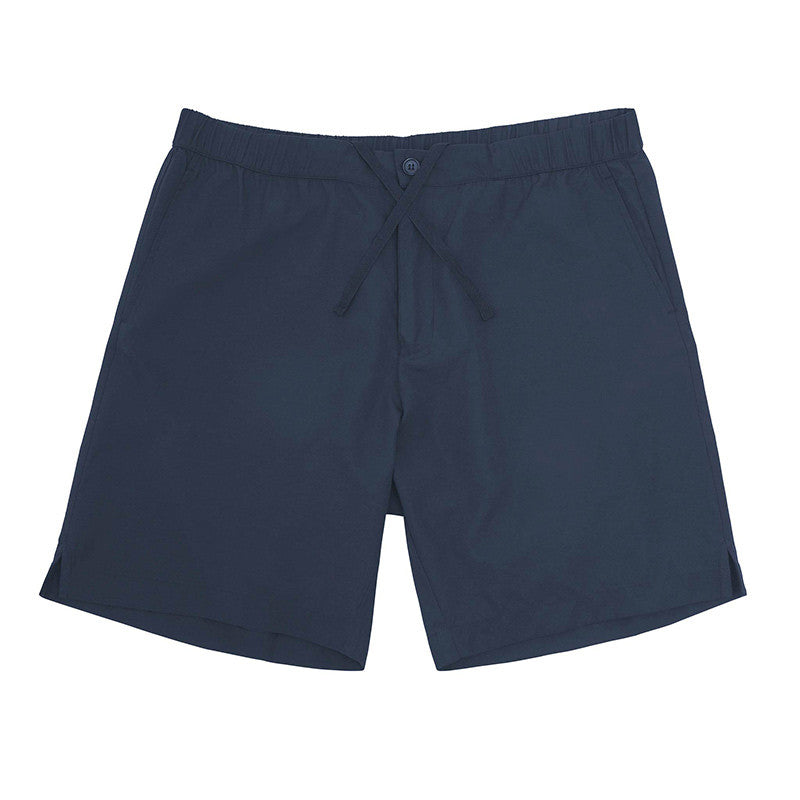Trent navy running shorts