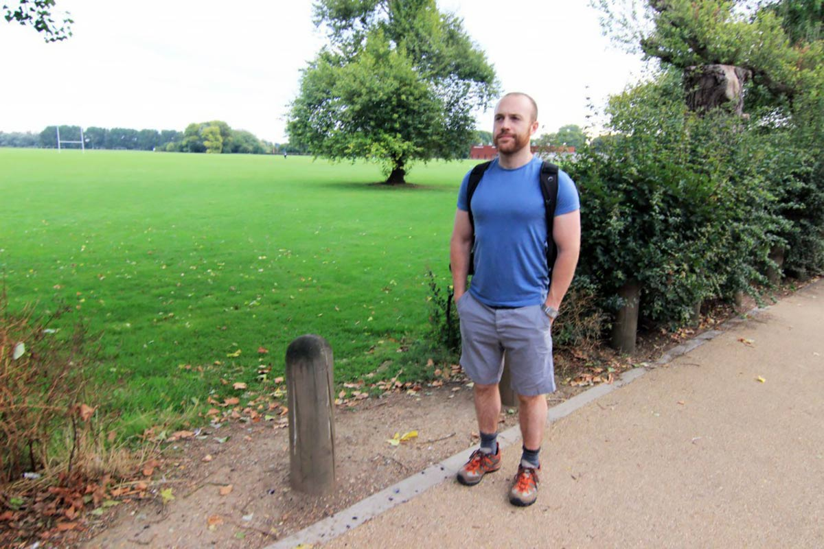Walking London to Cambridge