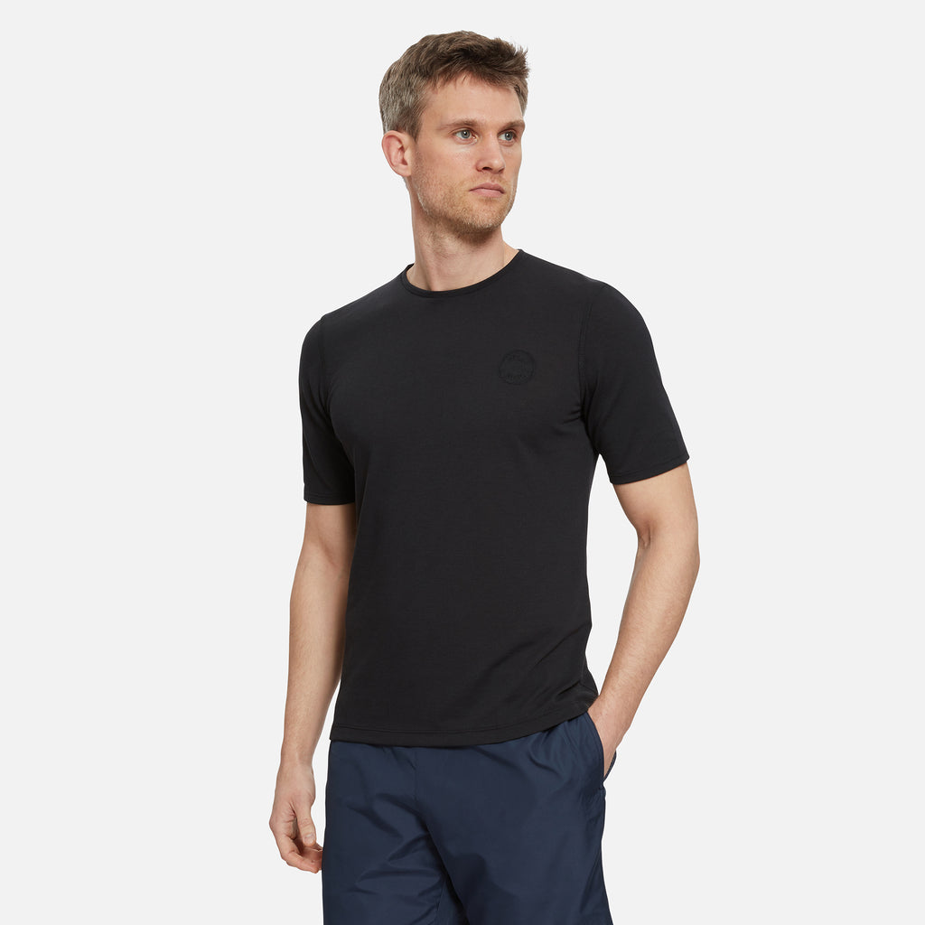 Cambrian Drirelease T-Shirt Gravel Black
