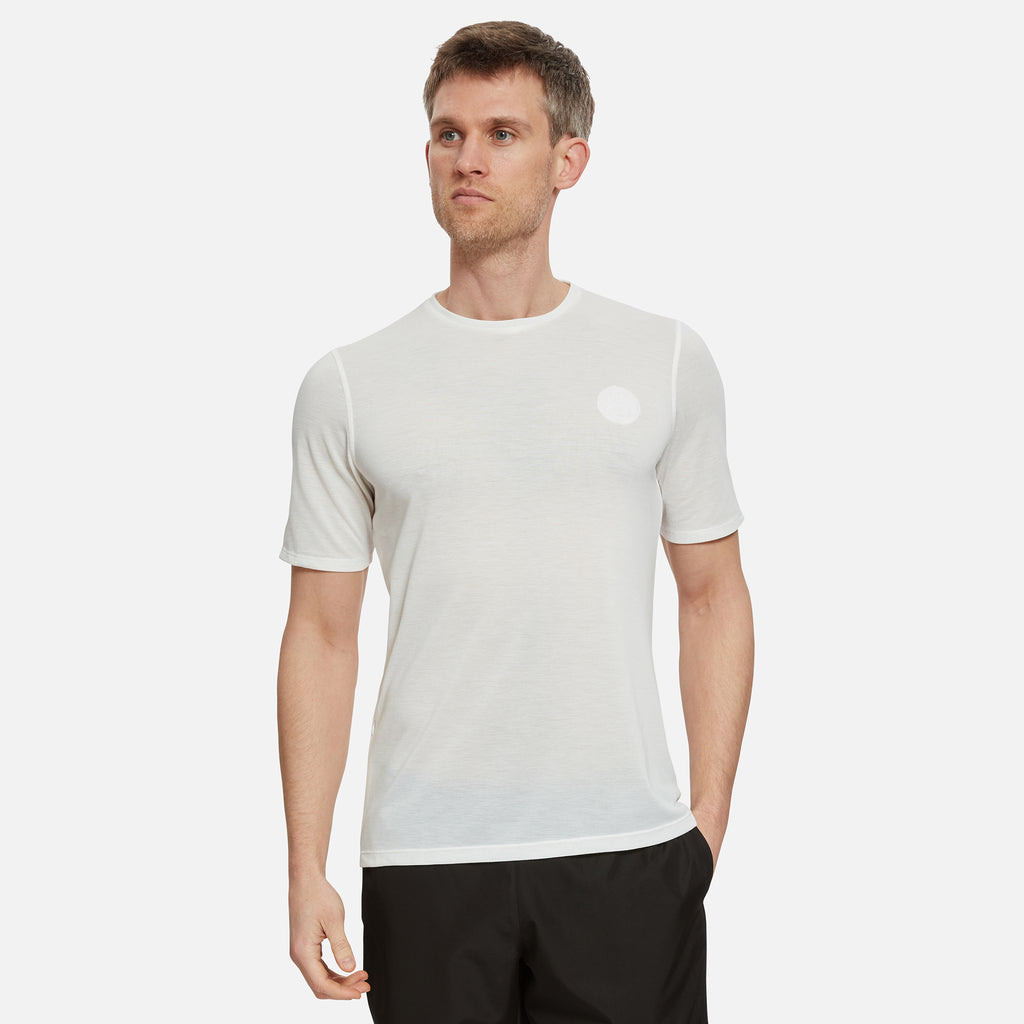 Cambrian Drirelease® Running T-Shirt in White