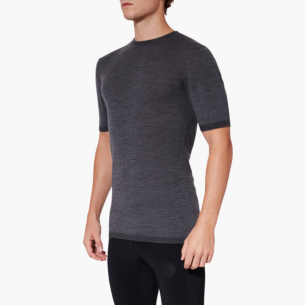 Exmoor Merino Base Layer Pebble Grey