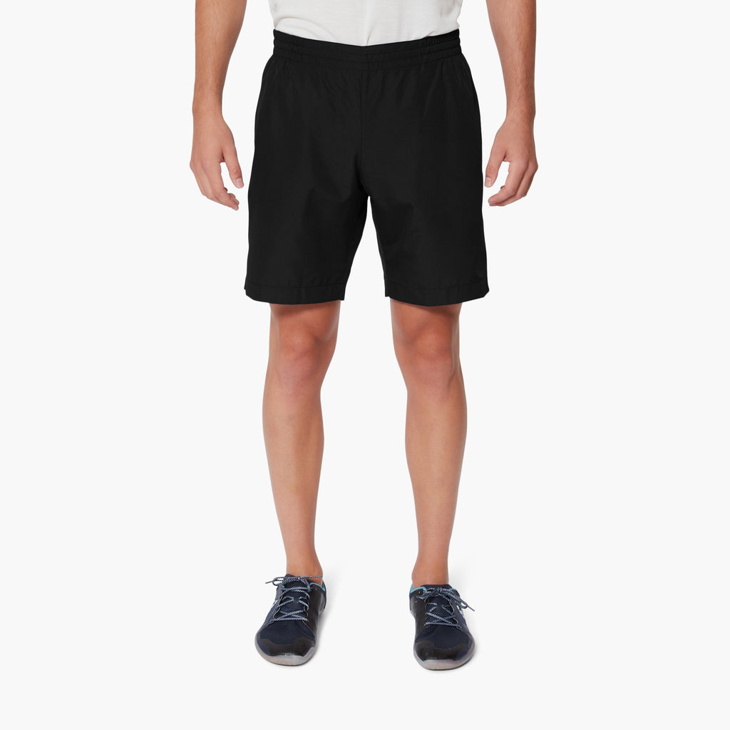 "Hampton 8"" Slim-Fit Shorts Gravel Black"