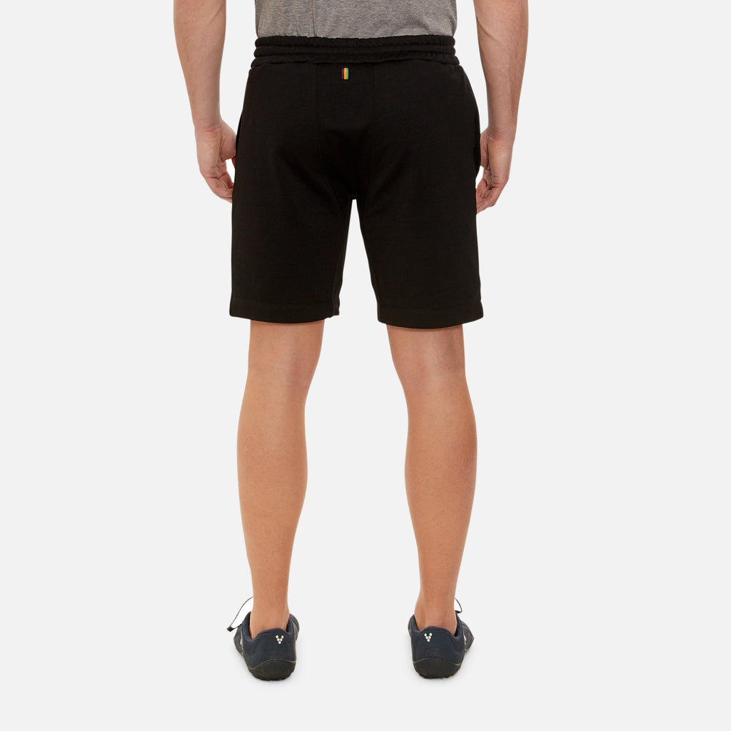 Hastings Sweat Shorts in Black | Iffley Road