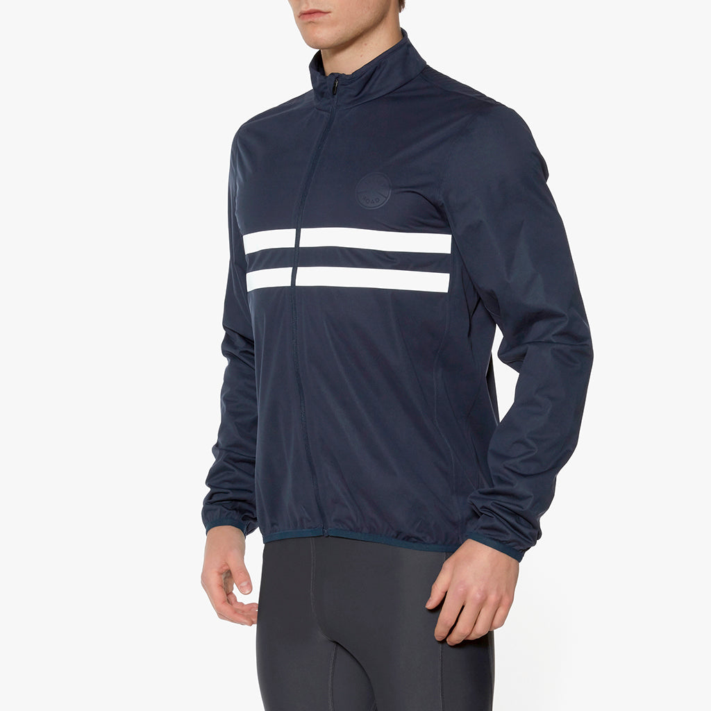Marlow II Waterproof Reflective Jacket Night Sky White