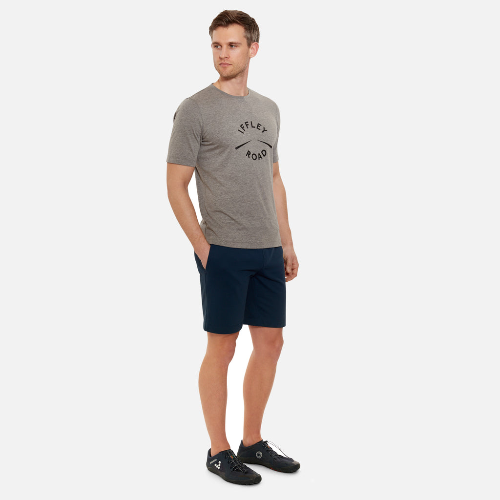 York Graphic Running T-Shirt in Grey | Iffley Road