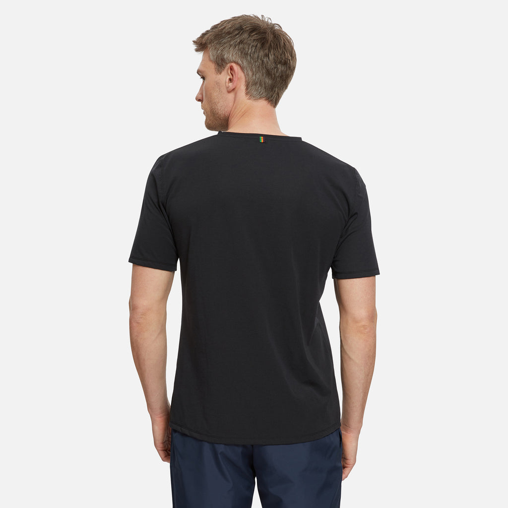 York Drirelease® Logo T-Shirt Gravel Black
