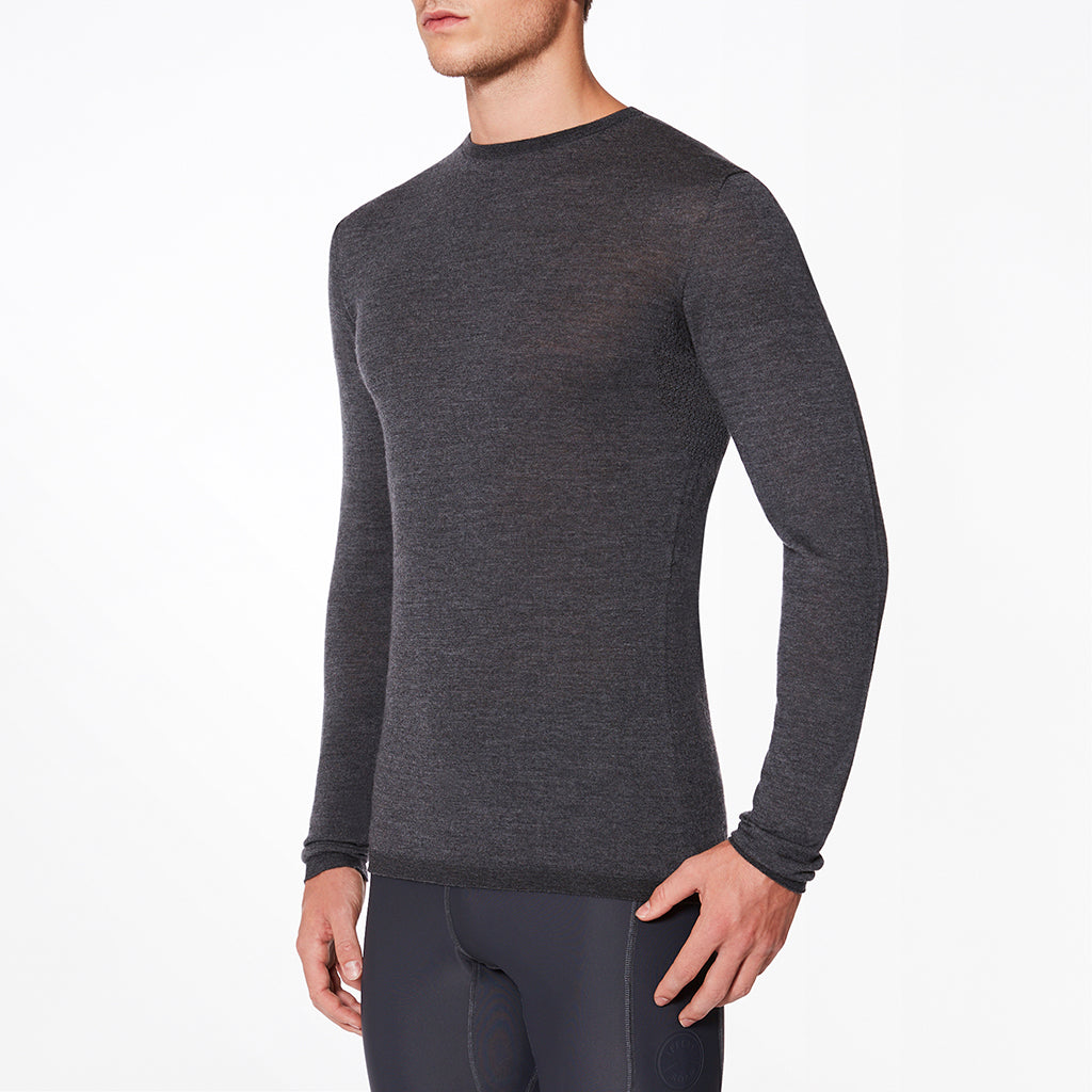 Dartmoor Merino Base Layer in Grey